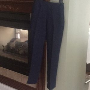 CAbi Navy Slacks Size 4